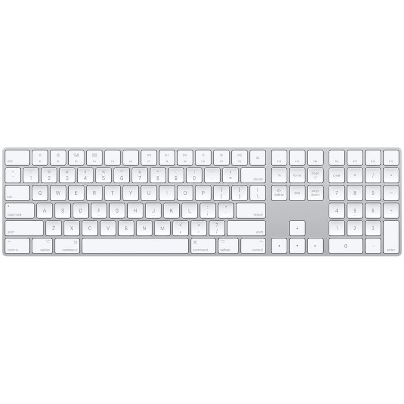 Apple Magic Keyboard mit Ziffernblock (US-Layout)