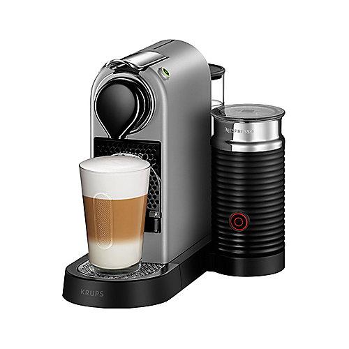 Krups XN 760B Nespresso CitiZ&Milch Silber