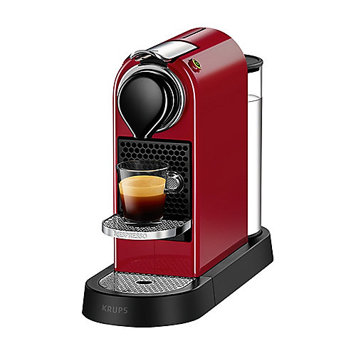 Krups XN 7405 Nespresso CitiZ Cherry Red | 0010942220305
