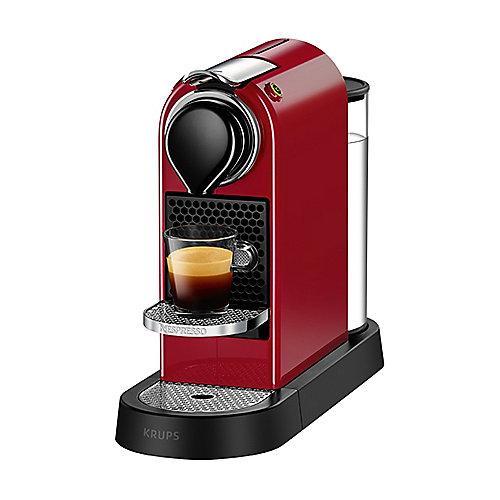 Krups XN 7405 Nespresso CitiZ Cherry Red | 0010942220305