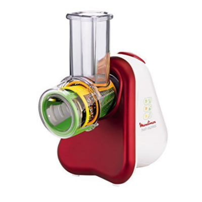 Moulinex  DJ7535 Zerkleinerer Fresh Express 3in1 Metallic-Rot-Weiß | 3045380010802