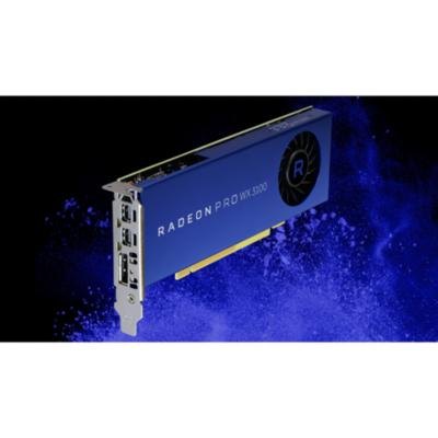 AMD  Radeon Pro WX3100 4GB GDDR5 PCIe Workstation Grafikkarte 2x Mini DP/1x DP | 0727419416450