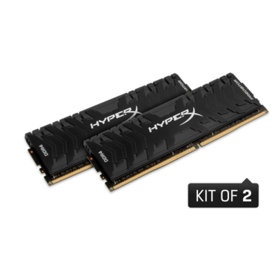 HyperX 16GB (2x8GB)  Predator DDR4-2400 CL12 RAM Kit | 0740617265835
