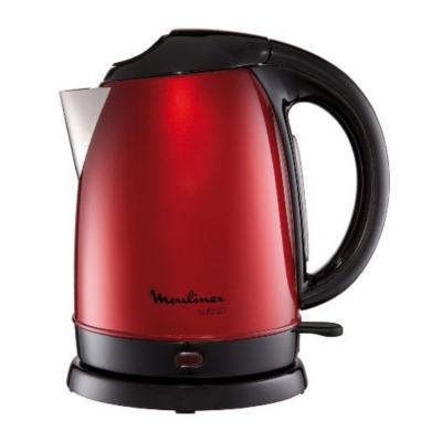 Moulinex  BY5305 Wasserkocher Subito Edelstahl 1,7 Liter rot | 3045386346936