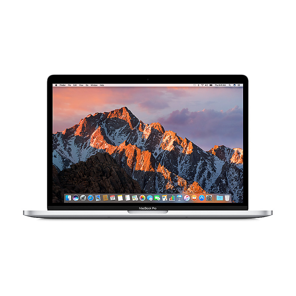 "Apple MacBook Pro 13,3"" Retina Late 2016 2,9 GHz i5 8 GB 256 GB II550 Silber"