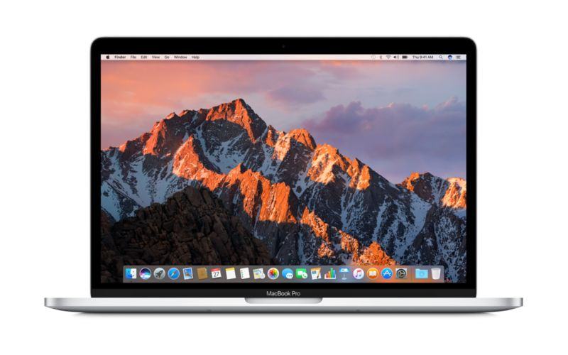 Apple MacBook Pro 13,3? Retina Late 2016 2,0 GHz i5 8 GB 256 GB II540 Silber