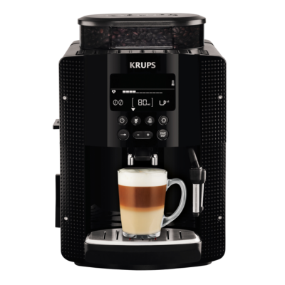 Krups EA 8150 Espresso-Kaffee-Vollautomat Schwarz