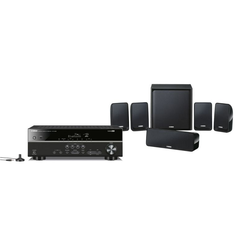 Yamaha YHT-2940 5.1 Home Cinema Set schwarz 4K, HDR, Bluetooth,