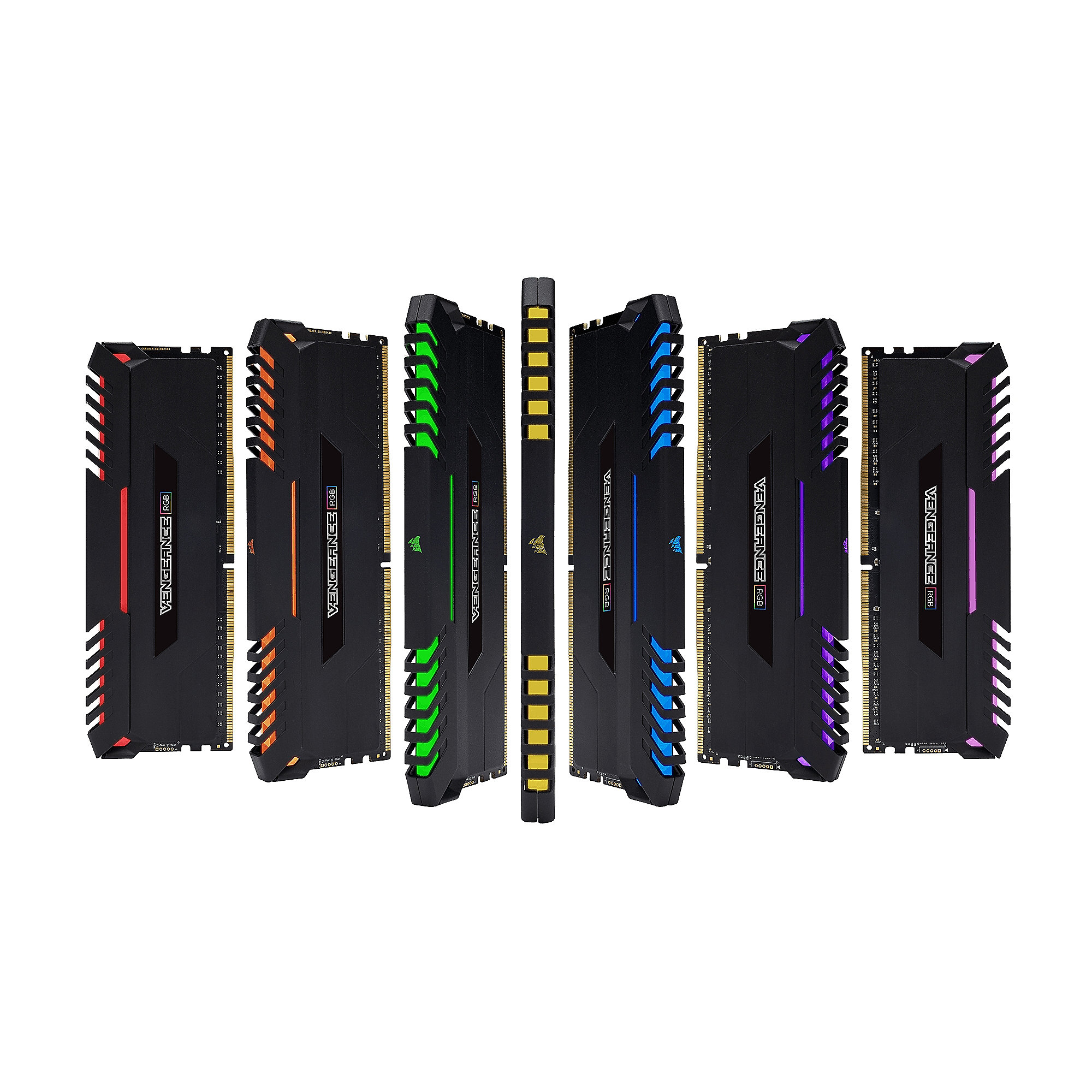 32GB (4x8GB) Corsair Vengeance RGB DDR4-2666 RAM CL16 (16-18-18-35) Kit