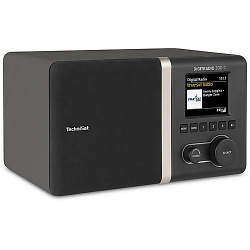 TechniSat DIGITRADIO 300 C DAB+/UKW Radio, antr...
