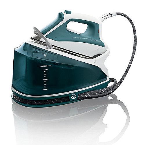 Rowenta DG7520 Compact Steam Dampfbügelstation 5 bar weiß/grün | 3121040053300