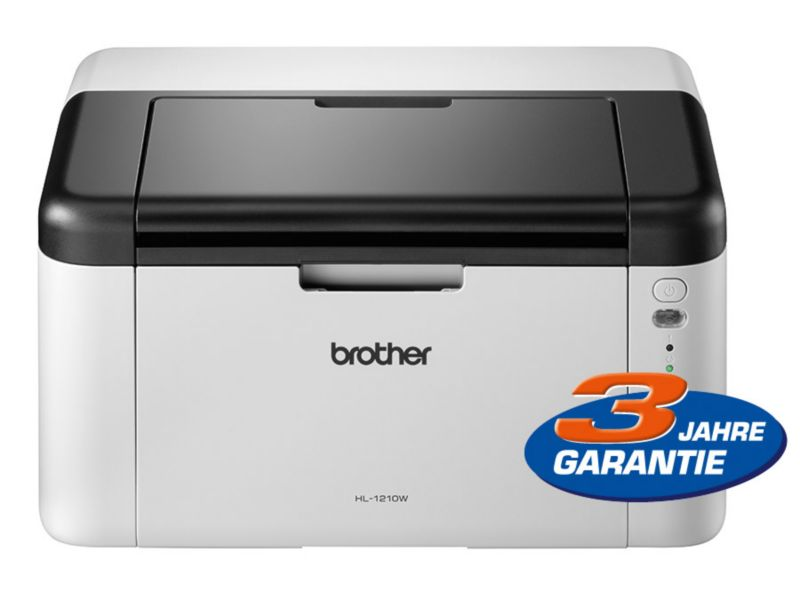 Brother HL-1210W S/W-Laserdrucker WLAN