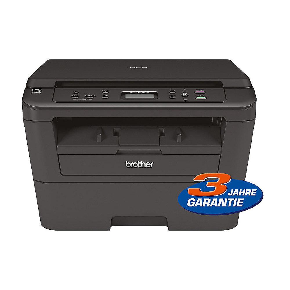 brother dcp l2520dw s w laser multifunktionsdrucker scanner kopierer wlan cyberport. Black Bedroom Furniture Sets. Home Design Ideas