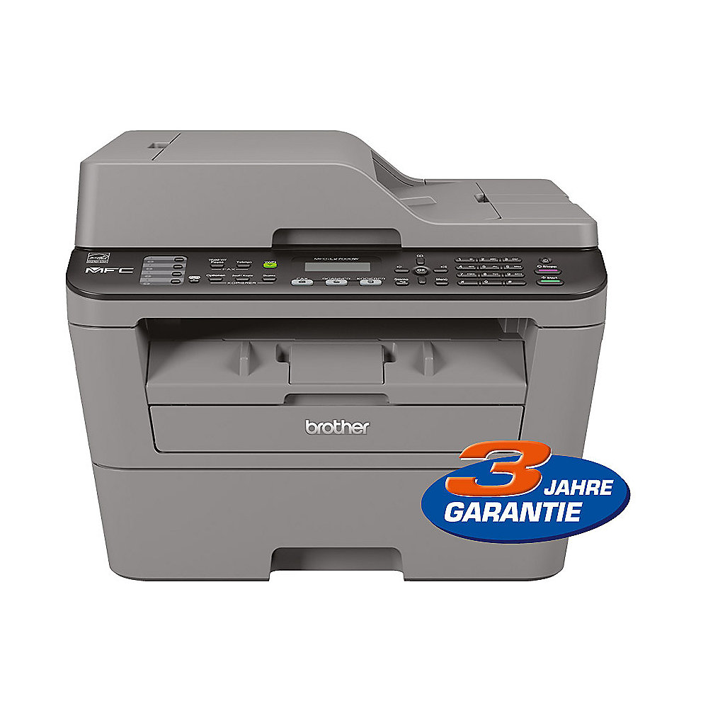Brother MFC-L2700DW S/W-Laser-Multifunktionsdrucker Scanner Kopierer Fax WLAN