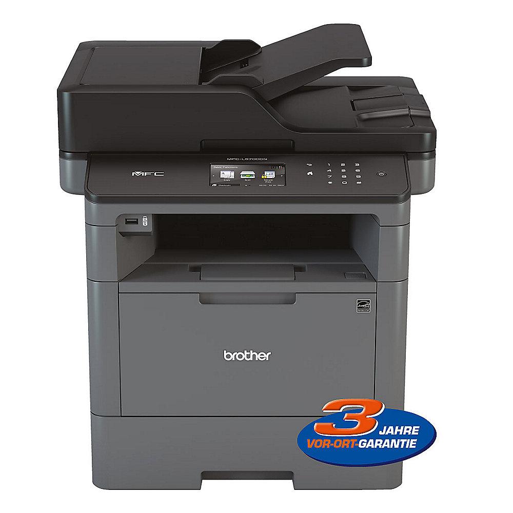 brother mfc l5700dn s w laserdrucker scanner kopierer fax lan cyberport. Black Bedroom Furniture Sets. Home Design Ideas