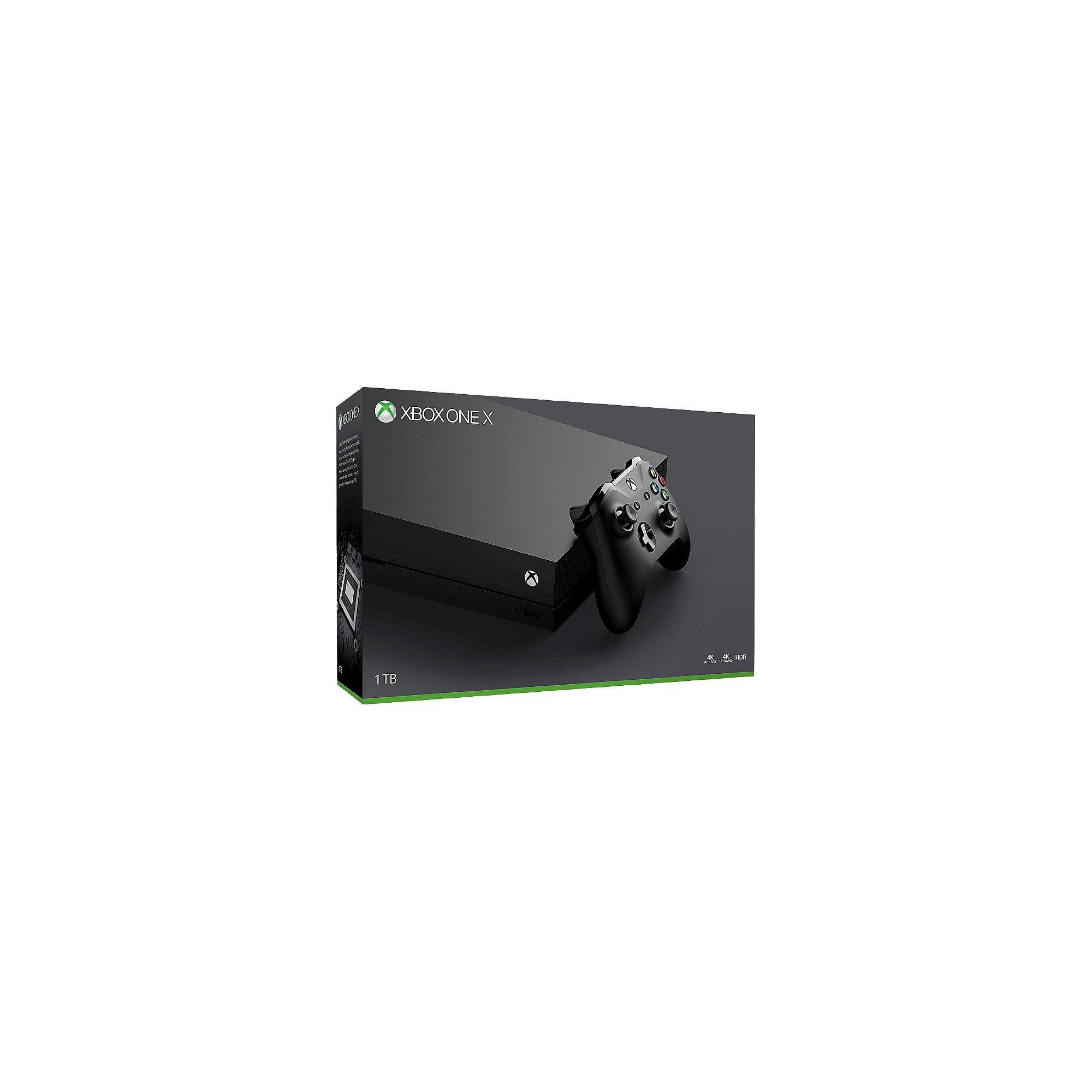 CP7D07-18F Microsoft Xbox One X Konsole 1TB