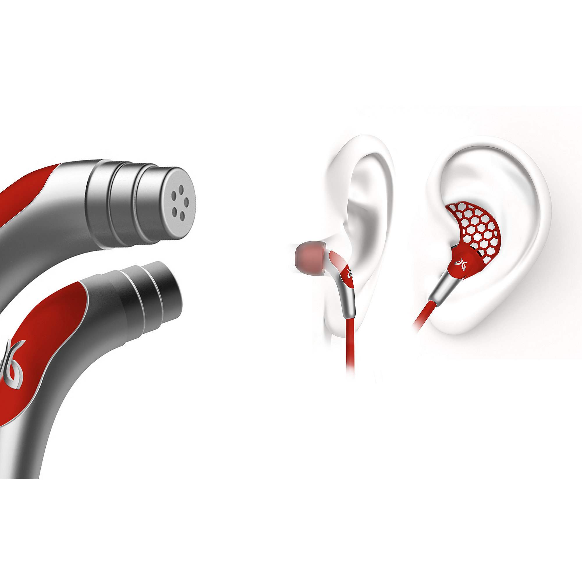 Jaybird Freedom Bluetooth In-Ear-Kopfhörer Rot