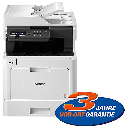 Brother MFC-L8690CDW Farblaser-Multifunktionsdrucker Scanner Kopierer Fax WLAN