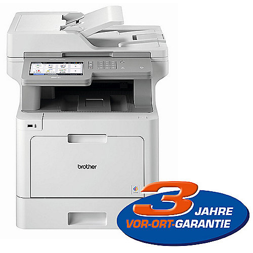 Brother MFC-L9570CDW Farblaser-Multifunktionsdrucker Scanner Kopierer Fax WLAN