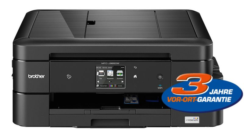 Brother MFC-J985DW Inkbenefit Drucker Scanner Kopierer Fax LAN WLAN NFC