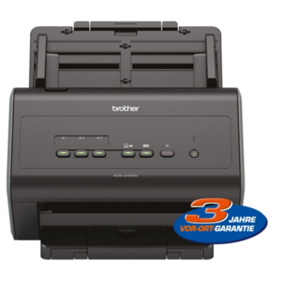 Brother  ADS-2400N Dokumentenscanner ADF Duplex 3 Jahre Garantie | 4977766755184