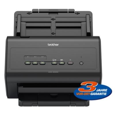 Brother  ADS-3000N Dokumentenscanner Duplex ADF LAN USB mit 3 Jahre Garantie | 4977766755245
