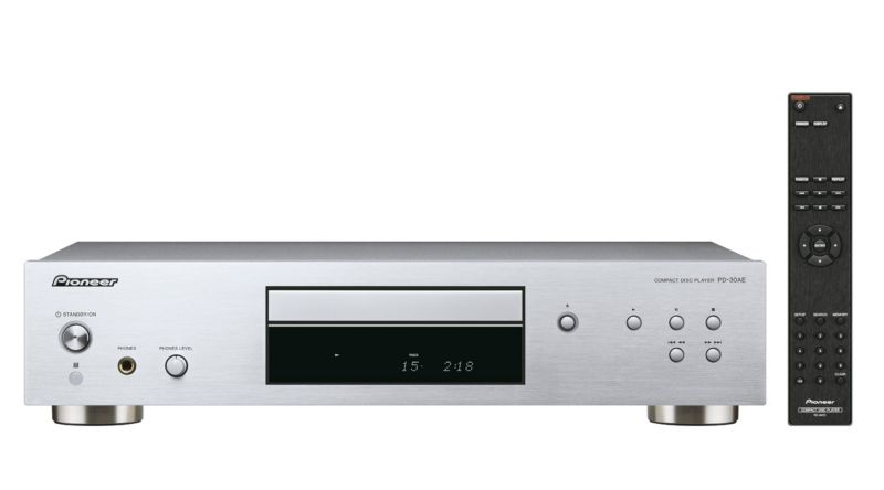 Pioneer PD-30AE Pure Audio CD-Player High Grade D/A-Wandler silber