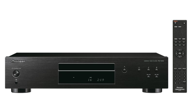 Pioneer PD-10AE Pure Audio CD-Player schwarz