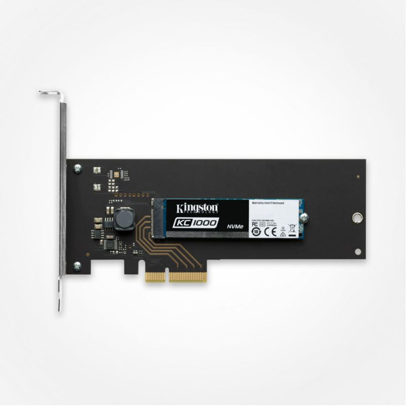 Kingston KC1000 SSD M.2 HHHL 240GB NVMe PCIe - 80mm