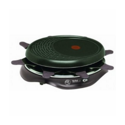 Tefal  RE 5160 Raclette Simply Invents 8 Cherry Black | 3168430094697