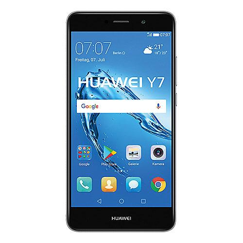 HUAWEI Y7 Dual SIM grey Android 7.0 Smartphone auf Rechnung bestellen