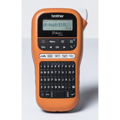 Brother  P-touch PT-E110 Beschriftungsgerät Handgerät 3 Jahre Garantie | 4977766774819