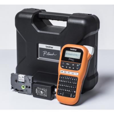 Brother  P-touch PT-E110VP Beschriftungsgerät mit Netzteil und Koffer | 4977766774956