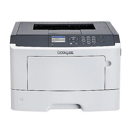 Lexmark MS517dn S/W-Laserdrucker LAN + 4 Jahre ...