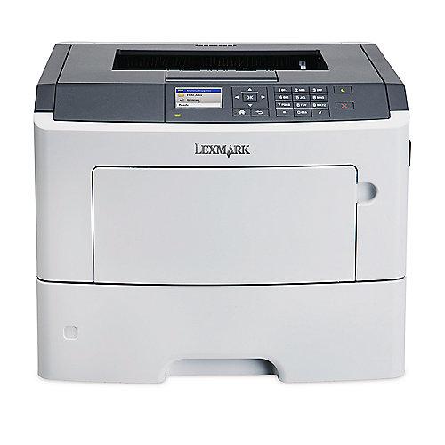 Lexmark MS617dn S/W-Laserdrucker LAN + 4 Jahre ...
