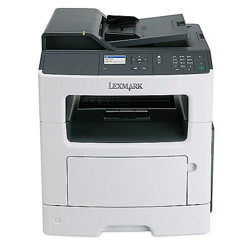 Lexmark MX317dn S/W-Laserdrucker Scanner Kopierer Fax LAN + 4 Jahre Garantie* | 0734646643405