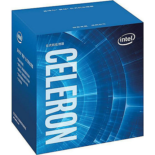 Celeron G3900 (2×2.8 GHz) 2MB Video/HD Sockel 1151 (Skylake) BOX | 5032037079358