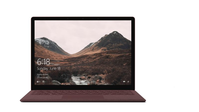 "Surface Laptop DAG-00010 rot i5-7200U 8GB/256GB SSD 13"" FHD Touch W10S"