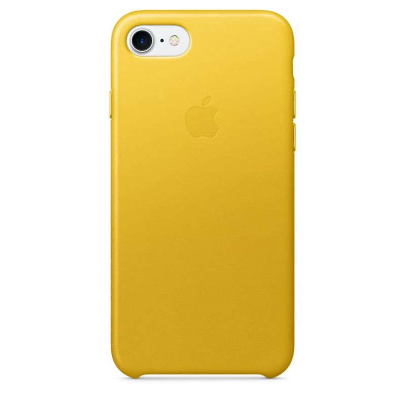 Apple Original iPhone 7 Leder Case-Sonnenblume