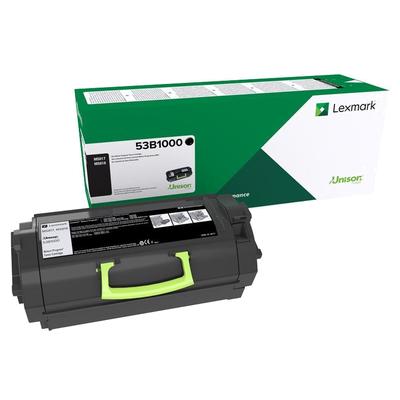 Lexmark  53B2000 Rückgabe-Tonerkasette Schwarz 11.000 Seiten | 0734646645287