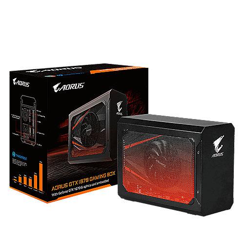 AORUS GTX 1070 Gaming Box, Thunderbolt 3, 2xDVI/HDMI/DP | 4719331301644