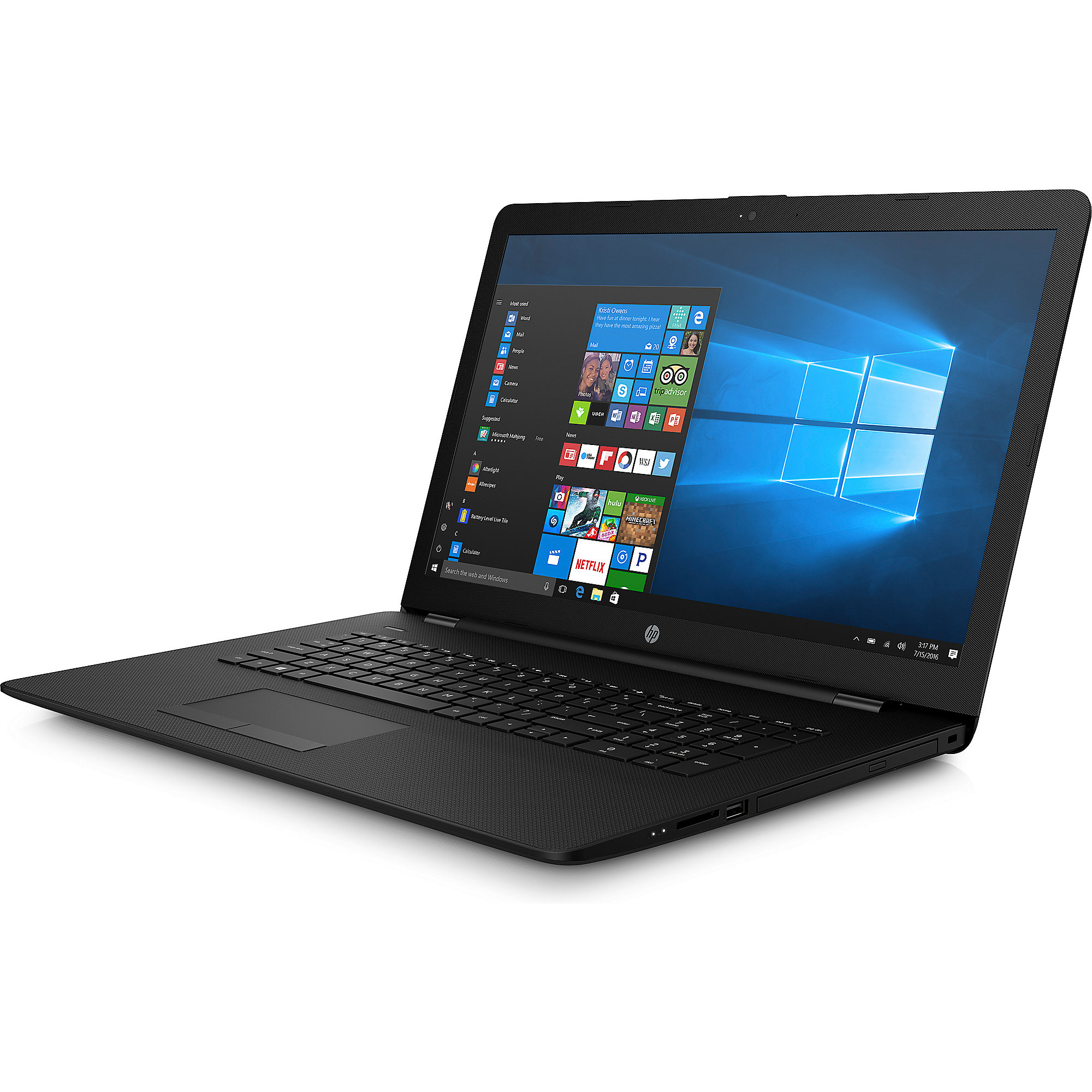 "HP 17-ak000ng E2-9000E 4GB/1TB 17"" HD+ W10"