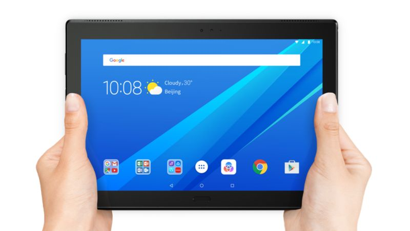 "Lenovo Tab 4 Plus TB-X704F ZA2M0032DE LTE MSM8953 3GB/16GB 25,7cm/10"" Android 7"