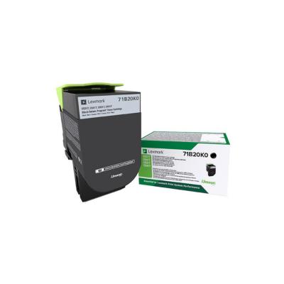 Lexmark  71B20K0 Rückgabe-Tonerkasette Schwarz 3.000 Seiten | 0734646641883