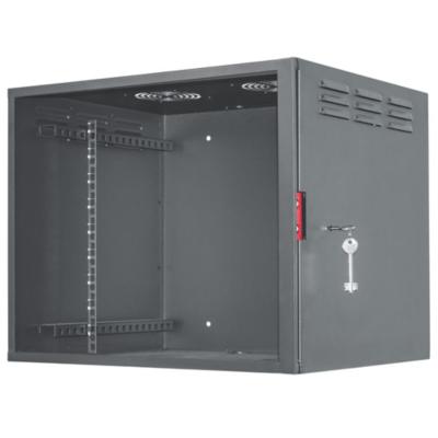 Intellinet  19″ Wandverteiler 460 (H) x 560 (B) x 450 (T) mm 9HE schwarz | 0766623714440