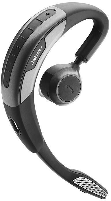 Jabra Motion Bluetooth Ohrbügel Headset schwarz