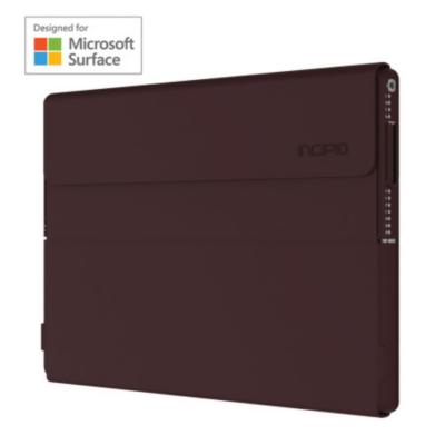 Incipio  Faraday Folio Case für Microsoft Surface Pro 4 and Pro (2017) rot burgundy | 0191058027887