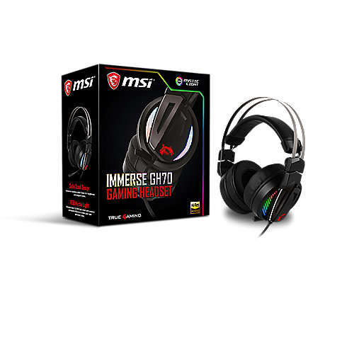 MSI Immerse GH70 Gaming Headset