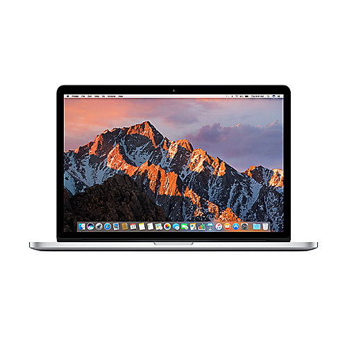 "Apple MacBook Pro 15,4"" Retina Late 2016 2,6 GHz i7 16 GB 256 GB IHD530 silber"