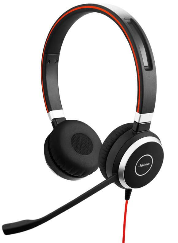Jabra Evolve 40 UC USB 3,5mm Klinke Stereo Headset